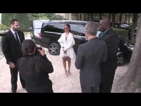 Rihanna fashion show in Paris