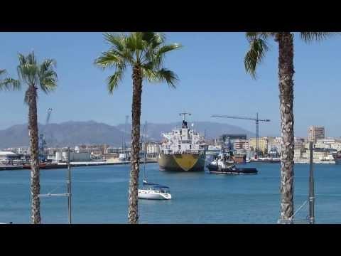 Historic Ship in Port of Malaga/Spain (Andalucia)