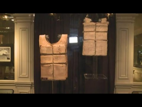 'Titanic' life jackets on display