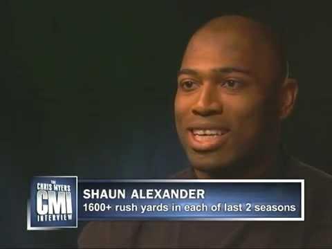 Chris Myers interviews Shaun Alexander on CMI