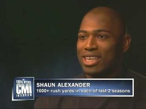 Chris Myers interviews Shaun Alexander on CMI