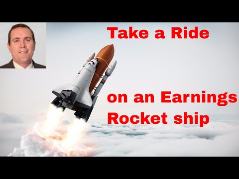 Strategy for Trading Earnings - Take a Ride on a Rocket Ship