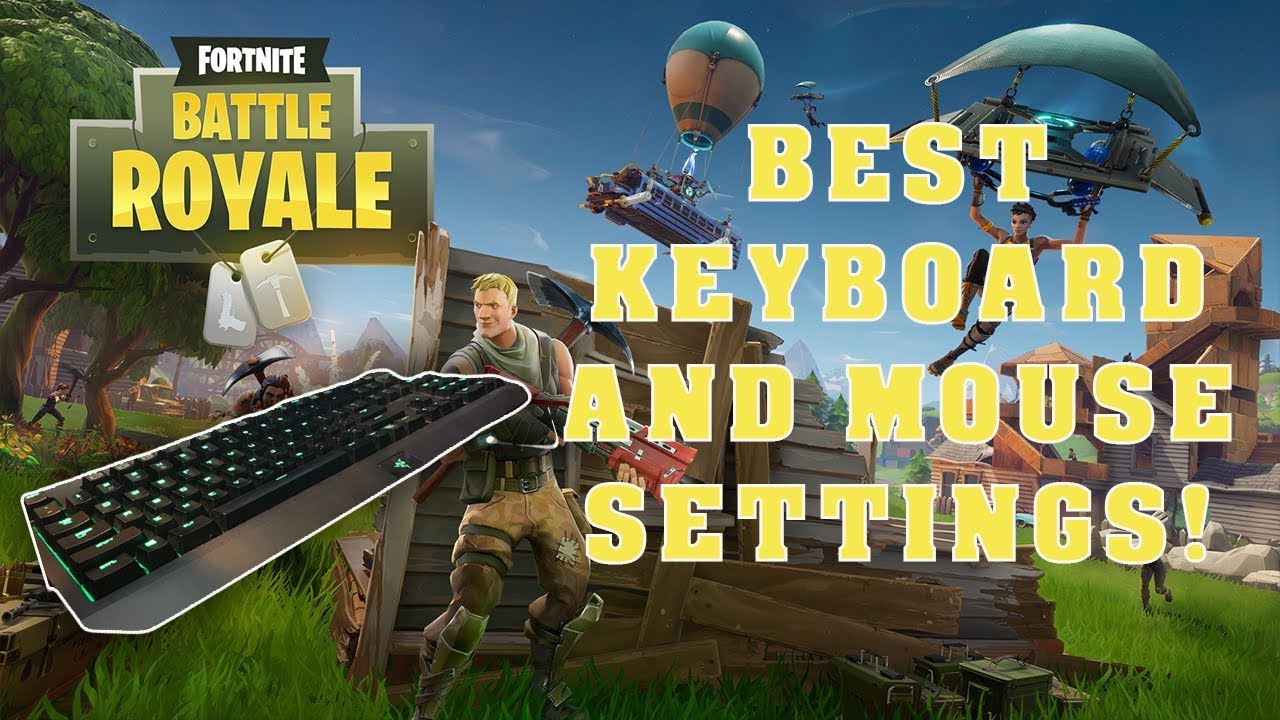 Best Keyboard And Mouse Settings For Fortnite Ps4 Pc Youtube