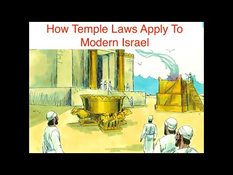 How Temple Laws Apply To Modern Israel (Tetzave 2021)