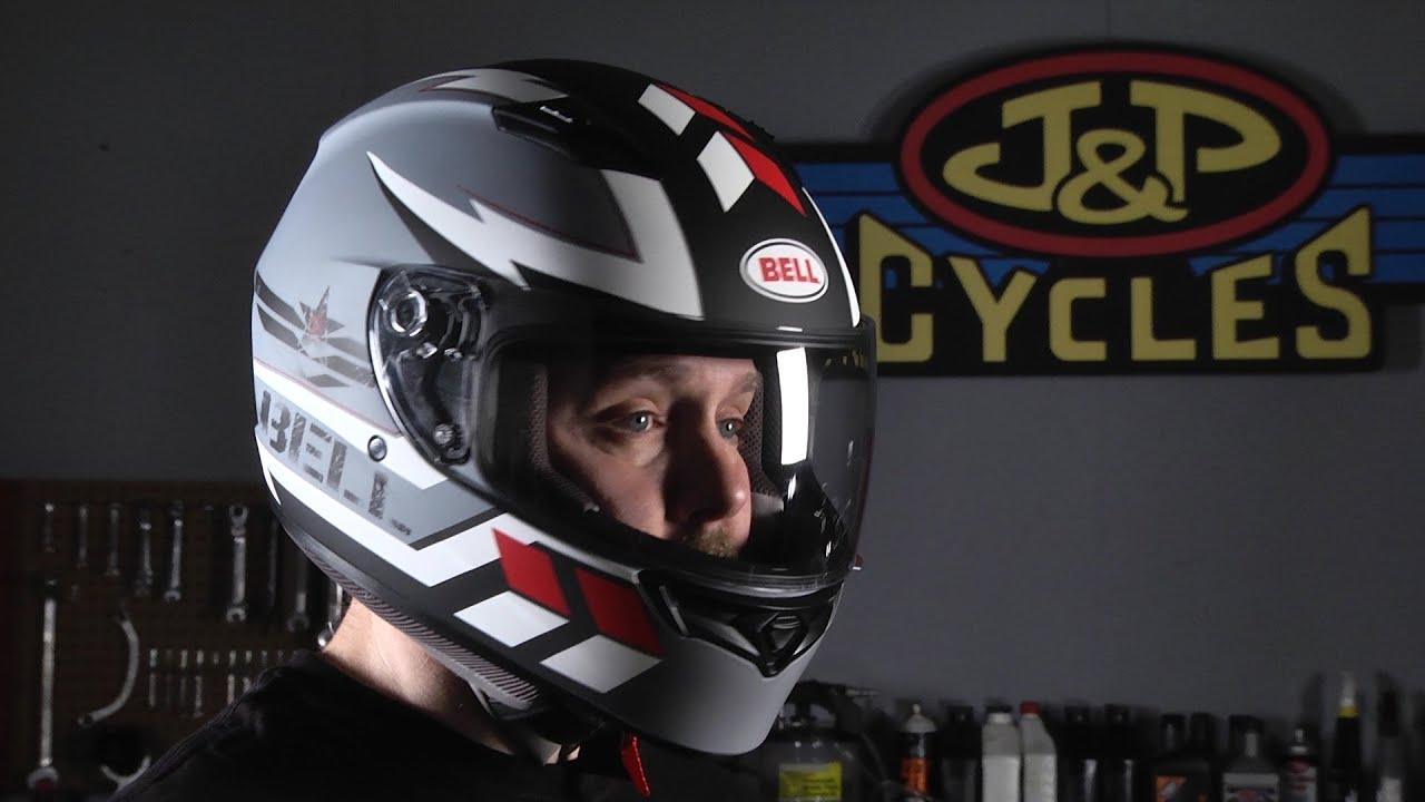 Bell Gloss Black Qualifier Full Face Helmet 103 218