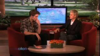 Robert Pattinson : Ellen DeGeneres show