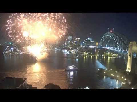 Fireworks on Sydney Harbour just for our camera!!??   4 May 2015