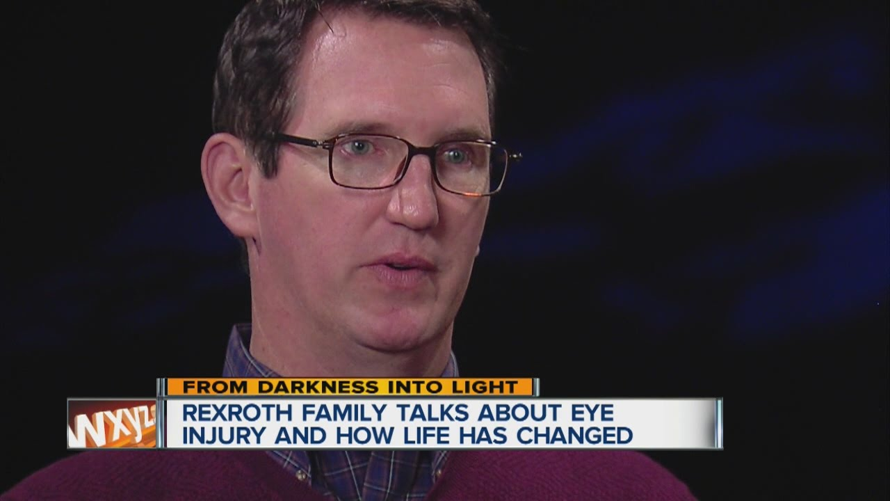 Rexroth family talks about eye injury and how life has changed
