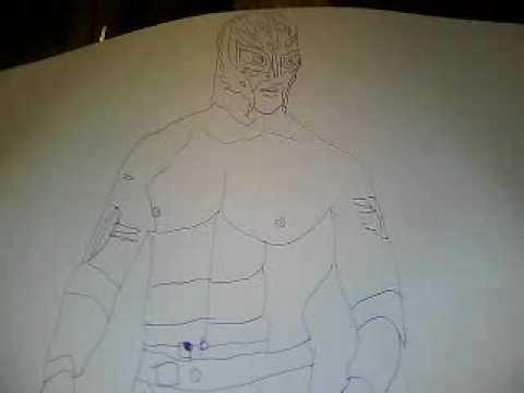 Dessin De Rey Mysterio Youtube