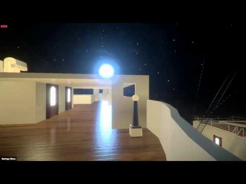 Can you survive the Titanic Sinking? Unity 5 Experience!