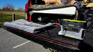 Winter Truck Camping: H๐w I Stay Warm Sleeping in my Toyota Tundra