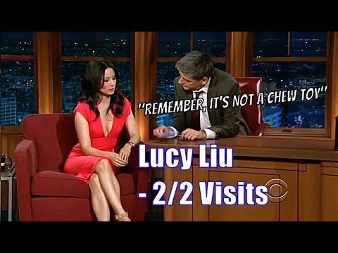 Lucy Liu  Craig Teaches Her How To Blow The Mouth Organ  22 Appearances  A Sketch HD