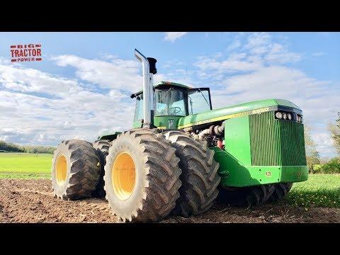 John Deere 8850 Kinze Re-Power 4wd Tractor