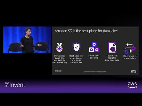 Amazon S3 is Exabytes and the #1 Place for Data Lakes
