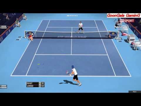 Nicolas Mahut vs Paolo Lorenzi | Swiss Indoors Basel 2016 1st Round TE 2013 Simulation