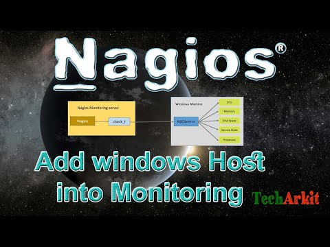 How To Add Windows Host To Nagios Monitoring | Tech Arkit | Windows Server Monitoring