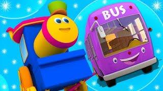 Bob der Zug   Räder auf dem Bus   Kinderreime für Kinder   Bus Lied   Bob Train   Wheels On The Bus