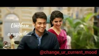 Naan un azhaginile song | Love status | 24 | Cute Whatsapp status | Suriya, Samantha, A.R. Rahman