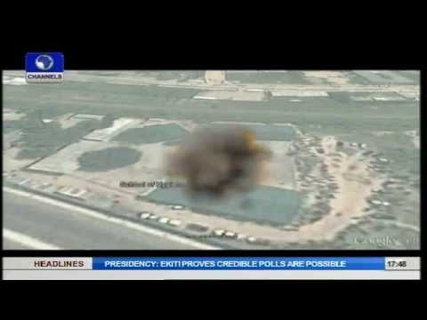 Explosion Rocks Kano School Of Hygiene