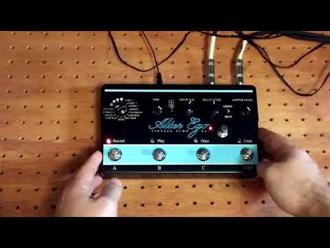 Alter Ego x4 Footswitch Upgrade Mod by Loophole Pedals