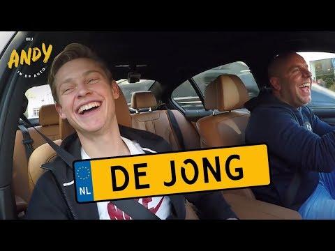 Frenkie de Jong - Bij Andy in de auto