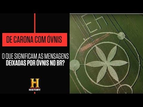 Conheça os agroglifos,  misteriosos círculos nas plantações | DE CARONA COM ÓVNIS | HISTORY