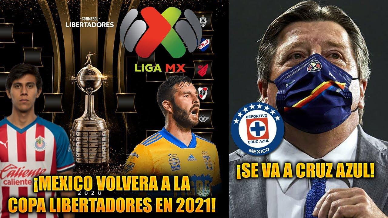 MEXICO Volverá a la COPA LIBERTADORES en 2021 | Miguel HERRERA ¿a CRUZ  AZUL? | FICHAJES LIGA MX 2021 - YouTube