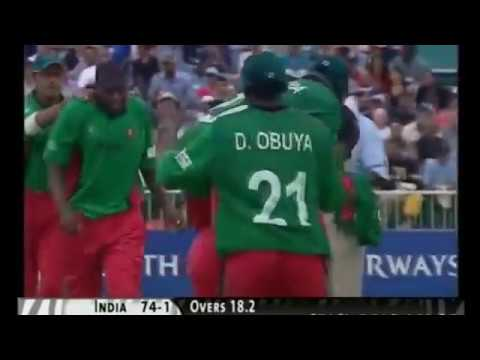 INDIA vs KENYA 2003 WORLD CUP SEMIFINAL  Full Highlights