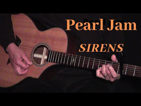Pearl Jam Sirens Guitar Lesson Youtube