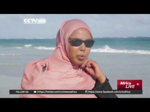 Somalia's coastline still attracts tourists. Mashallah.