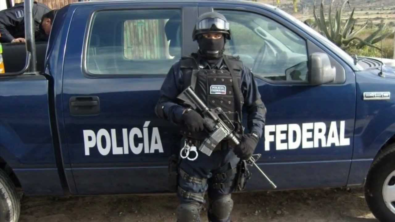Homenaje a La Policía Federal Mexico - YouTube