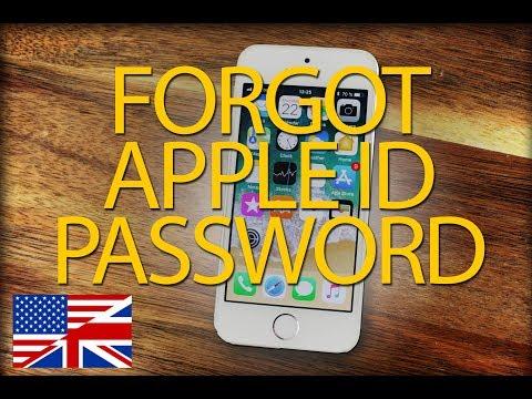 How to change apple id password in iphone 6 plus