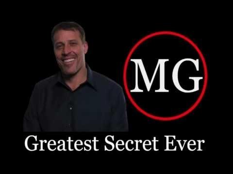 Tony Robbins ted talk Greatest Secret Ever Tony Robbins 2017