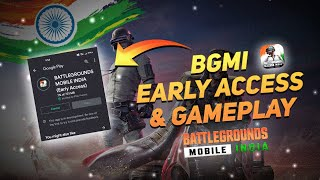 Battlegrounds Mobile India is Here! BGMI Early Access, Interface & First Gameplay