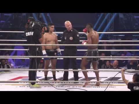 Mohammed el Messaoudi VS Cedric Manhoef - WFL