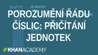 Porozumění řádu číslic: Přičítání jednotek   Matematika pro nejmenší   Khan Academy