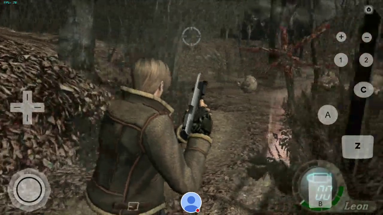 Resident Evil 4 for Wii on Dolphin Emulator for Android using Snapdragon  835 OnePlus 5