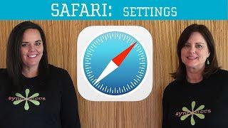 iPhone / iPad Safari - Settings