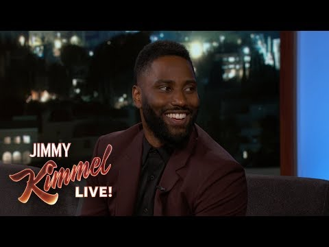 John David Washington on Dad Denzel, Morgan Freeman & BlacKkKlansman