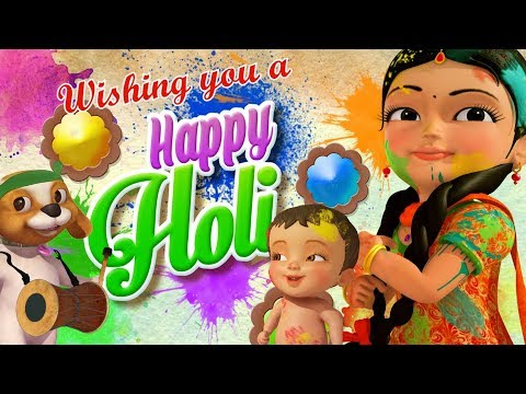Holi Ka Tyohaar Aaya Hai Hindi Rhymes For Children Infobells