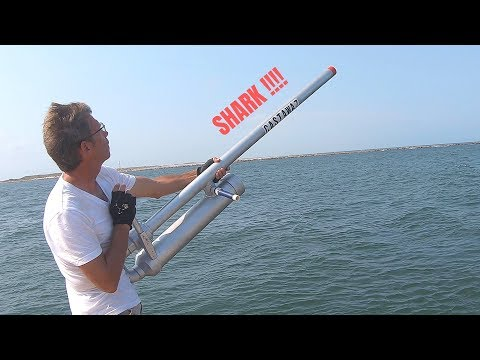 Cannon Shark Fishing