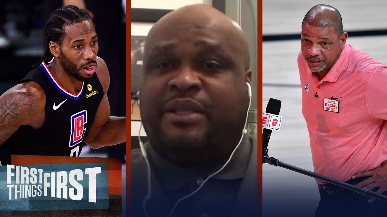Antoine Walker reacts to removal of Doc & lack of defense by Kawhi & PG13 | NBA | FIRST THINGS FIRST