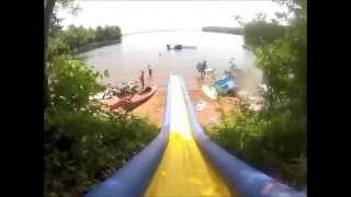 Commerical Grade water slide Turbo Chute