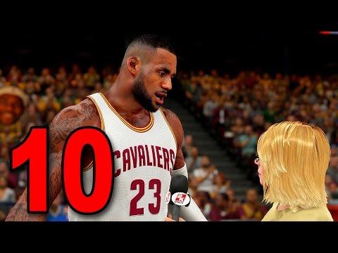 NBA 2K16 My Player Career - Part 10 - LeBron James (PS4 Gameplay)