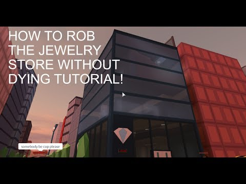 HOW TO ROB THE JEWELRY STORE WITHOUT DYING TUTORIAL! Jailbreak Beta!