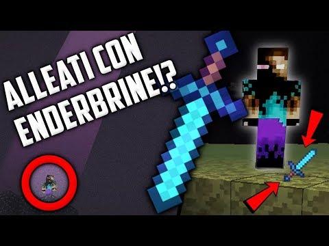 CI SIAMO ALLEATI CON ENDERBRINE!? (INCREDIBILE)  #3 - Minecraft ITA