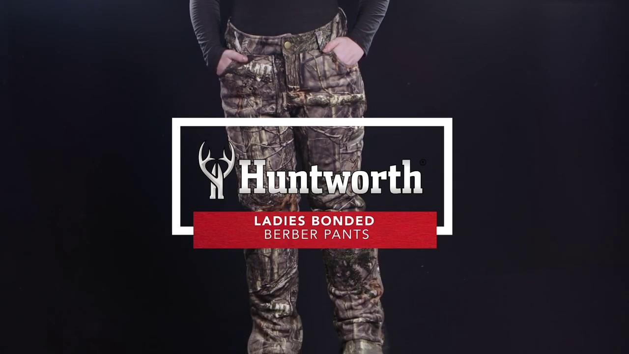 862387e37ed07 Ladies Bonded Berber Pants (Hidd'n®) - Huntworth Gear