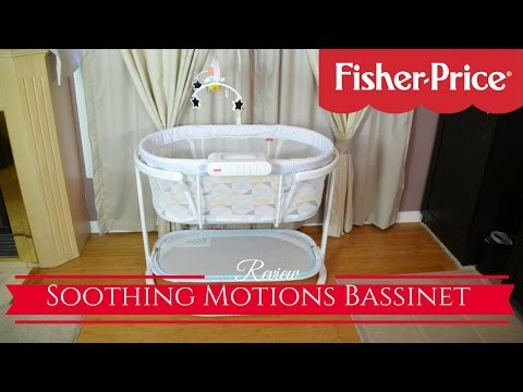 New! Fisher Price Soothing Motions Bassinet