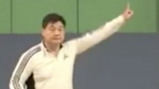(十)眼睛应该看哪里 Badminton Backhand 10