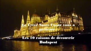 10 bonnes raisons de découvrir Budapest !